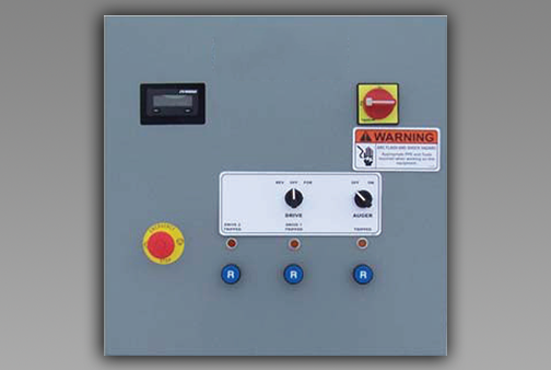 Bin Sweep Auto Drive Control Panel