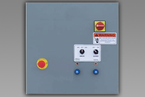 Bin Sweep Standard Control Panel