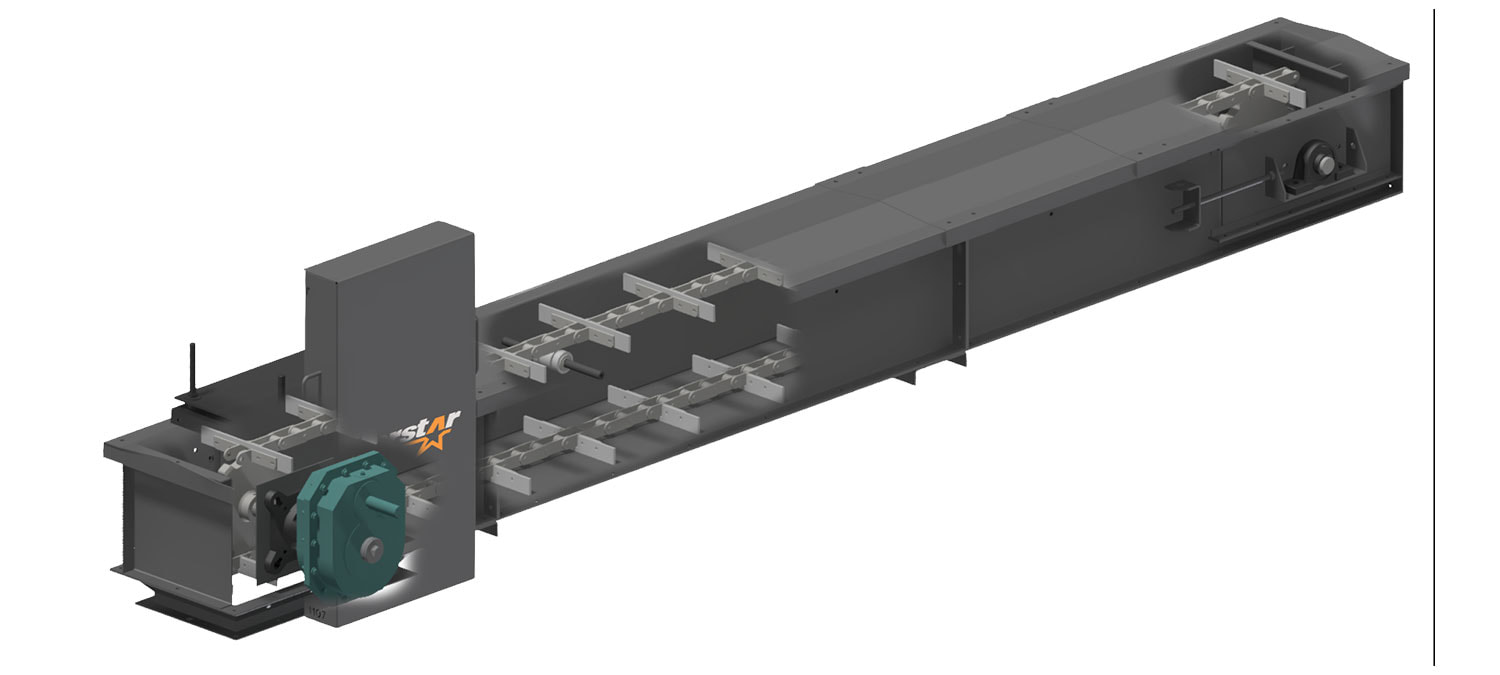 Norstar Industrial Drag Chain Conveyors