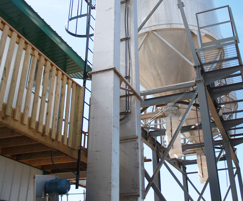 Stainless Steel Bucket Elevator Trunking